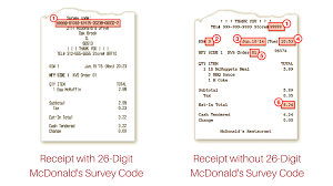 Code For Surveys On The Go - 28 Images - How To Get Free ... Mcdvoicecom Customer Survey 2019 And Coupon Code Mcdonalds Survey Coupon Chick Fil A Receipt Code September 2018 Discounts Kroger Coupons On Card Actual Store Deals Mcdvoice Free Sandwich Offer Mcdvoicecom Wonderfull Mcdvoice Rules Business Personalized Mcdvoice Ways To Complete It Procedures And Tips Mcdvoice Mcdonalds At Wwwmcdvoicecom Online For Surveys The Go 28 Images How To Get Free Wwwmcdvoicecom Sasfaction Coupon Www Com 7 Days Mcdvoice