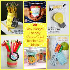 Back To School Gift Ideas For The Teacher Free Printables Teacher
