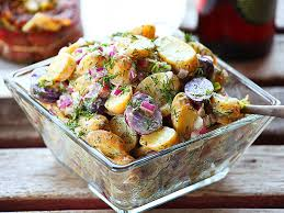 20140503 Dill Sour Cream Fingerling Potato Salad Recipe