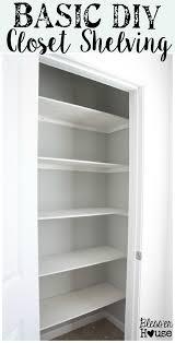 best 25 diy closet shelves ideas on pinterest closet shelves