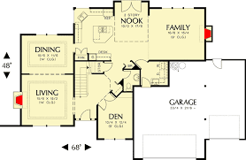 Efficiency Floor Plans Colors Efficiency And Comfort Around Central Core 6853am