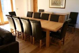 Large Dining Table Seats 10 12 14 16 People Huge Big Tables Throughout Room