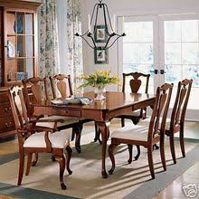 KINCAID FURNITURE BROOKSIDE CHERRY QUEEN ANNE LEG DINING TABLE