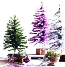 Battery Operated Tabletop Christmas Tree Small Trees Tinsel Miniature Lights