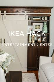 IKEA Hack | Barn Door Entertainment Center - My Creative Happy Large Sliding Room Dividers Doors Lweight Barn Door Friendly Insulated High White Interior Closet The Home Depot 30 Designs And Ideas For The In X Everbilt Hdware Rollers Nonwarping Panted Honeycomb Panels Best 25 Diy Interior Barn Door Ideas On Pinterest Looks Simple And Elegant Lowes Rebecca