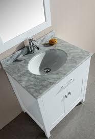 30 Inch Bathroom Vanity With Drawers by Design Element London Single 30 Inch Modern Bathroom Vanity Set