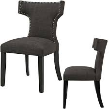 Amazon.com - Upholstered Dining Chairs Wingback Mid Century ... Harlow Velvet Wingback Ding Chair With Nailheads Set Of 2 Iconic Home Shira Faux Linen Belgravia Wing Back Rattan With Cushion Wingback Ding Chairs Genevaolszewskico Host 300350126 Sofas And Sectionals Amazoncom Upholstered Chairs Mid Century Nailhead For Best Fniture Fnitures Fill Your Room Pretty Parsons Cheap Decor Gallery