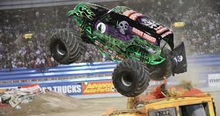 100 Monster Trucks Nashville Jam Smashes Into