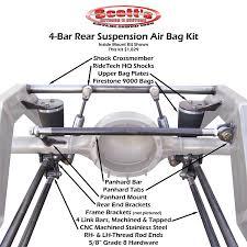 100 Air Bag Kits For Trucks Scottshotrods Scotts Hotrods 4 Link Suspension