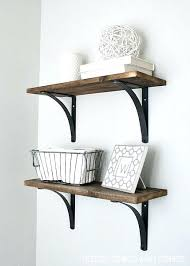 Rustic Bathroom Shelves Easy And Inexpensive Via Floating