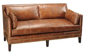 Bernhardt Brae Sofa Leather by Furniture Stanford Furniture