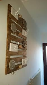 Pallets Wooden Hanging Wall Shelf