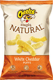 CHEETOSR Puffs SIMPLY NATURALTM White Cheddar Cheese Flavored Snacks