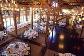 Indoor Reception At The Barn Gibbet Hill