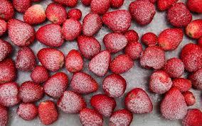 erdbeeren einfrieren so machen sie die früchte haltbar