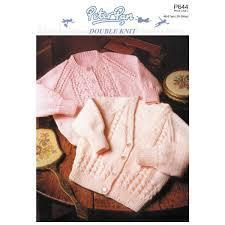 Peter Pan Downloadable Pattern 644 Le Bebé Baby Knitting