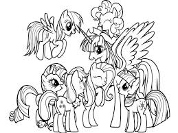 My Little Pony Coloring Pages Google Sogning