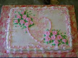 Pink Happy Birthday Cake With Roses on Cake Central