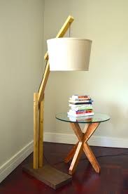 DIY Floor Lamp For Many Occasions Wood