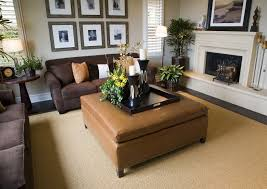 Living Room Decorating Brown Sofa by Furniture Inspiring Large Ottoman Tray For Home Furniture Ideas