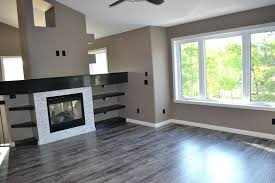 Grey Floor Living Room Chic Laminate Flooring In Contemporary With Ebony Next To