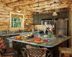 Red Rustic Kitchen Antique Decorating Ideas Country Wall