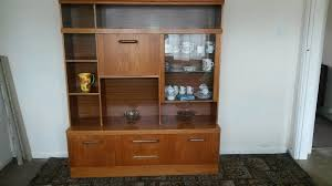 Dining Room Cabinet In Teak With Glass
