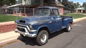 SUPER RARE 1956 GMC 1/2 Ton Big Back Window Factory V8 NAPCO Truck ...