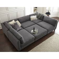 Wayfair Leather Sectional Sofa by The Pit
