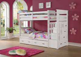 acme furniture allentown twin over twin bunk bed reviews wayfair