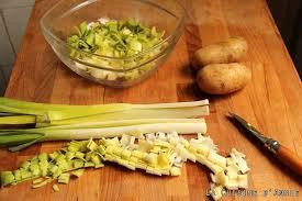 recettes de cuisine avec le vert du poireau recette potage poireaux pommes de terre la cuisine familiale