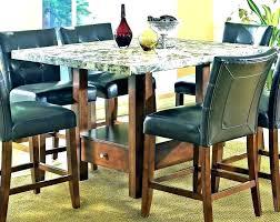 Black Dining Room Table Set High Top Kitchen Plain