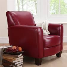 Small Leather Club Chair In Red On Beige Carpet - Decofurnish Chairs Red Leather Chair With Ottoman Oxblood Club And Brown Modern Sectional Sofa Rsf Mtv Cribs Pinterest Help What Color Curtains Compliment A Red Leather Sofa Armchair Isolated On White Stock Photo 127364540 Fniture Comfortable Living Room Sofas Design Faux Picture From 309 Simply Stylish Chesterfield Primer Gentlemans Gazette Antique Armchairs Drew Pritchard For Sale 17 With Tufted How Upholstery Home
