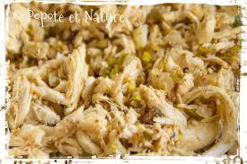 rillette de poulet maison popote et nature rillettes de poulet légères épicées et croquantes