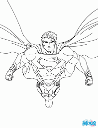 Dc Superheroes Coloring Pages Super Heroes And Villains