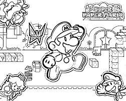 Super Mario Luigi Princess Peach And Bowser Coloring Page Editor