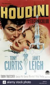 Janet Leigh Tony Curtis Stock Photos U0026 Janet Leigh Tony Curtis by Houdini 1953 Tony Curtis Janet Leigh Poster Houd 002cp Stock