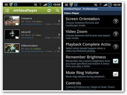 mvideo player android