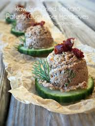 cucumber canapes sun dried tomato pate cucumber canapés