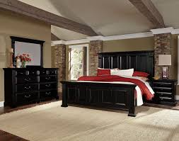 Vaughan Bassett Bedroom Sets by Woodlands Mansion Bedroom Set Black Vaughan Bassett Furniture Cart
