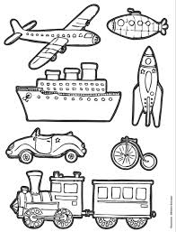 149 Dessins De Coloriage Transport à Imprimer