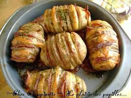 cuisiner la pomme de terre recette de pommes de terre papillon cheddar bacon