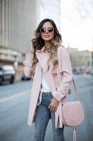 Pink Trench Coat Topshop Pink Trench Coat Zara Jeans Free