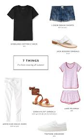 My 7 Most Worn Items This Summer | Monica Dutia: The Blog