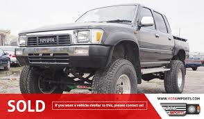 1989 Toyota Hilux Double Cab Truck #02915DHL01 – Yota Imports Truck Picture Post Page 148 Toyota Nation Forum Car 4runner Largest View Single T100 Photos Informations Articles Bestcarmagcom 1989 Dlx Xtracab Pickup Truck Item Da2544 Sold M Pickup For Sale Classiccarscom Cc1075297 Toyota Model Names Bestwtrucksnet Toyota Truck 4x4 Regular Cab Stored Body 2 Plowsite Best Older Trucks For 89 Additionally Cars Models With Db9480 July 5 Vehicl 20 Years Of The Tacoma And Beyond A Look Through