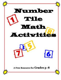 number tiles free problem solving math activities for grades 5 8