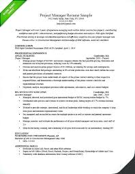 Sample It Project Manager Resume Objectives Objective Best Samples Is One Of The Idea For