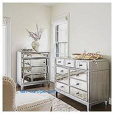 Hayworth Mirrored Dresser Silver by Storage Benches And Nightstands Unique Glass Dressers And