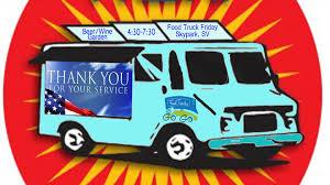 100 Dessert Trucks Special Food Truck Friday Honoring Local Veterans My Scotts