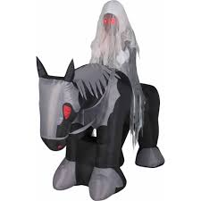 Gemmy Airblown Inflatable 35 X 2 Happy Ghost Halloween Decoration